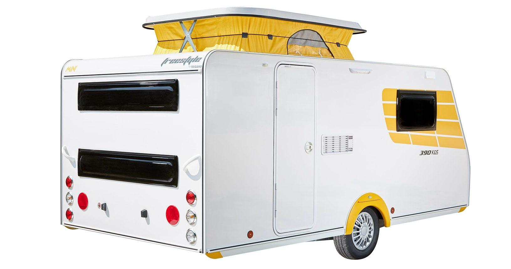 Silver Mini Freestyle 390 Kids - Außenansicht 1