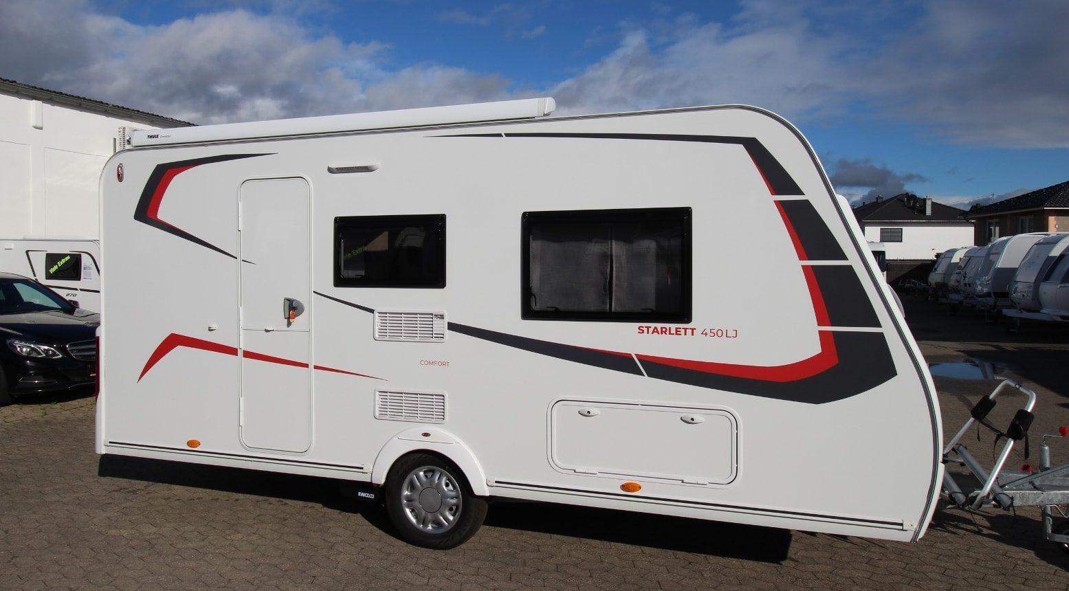 Sterckeman 450LJ Starlett Comfort 2020 – Außenansicht