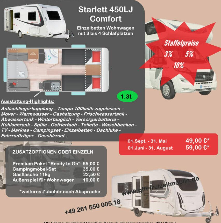 Preise-Starlett-450LJ